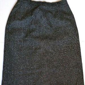 VTG Pendelton Pencil Skirt Size 8